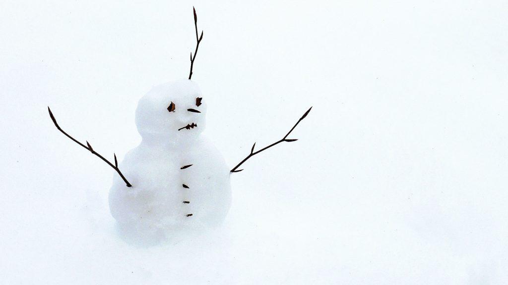 cinema pupazzo neve