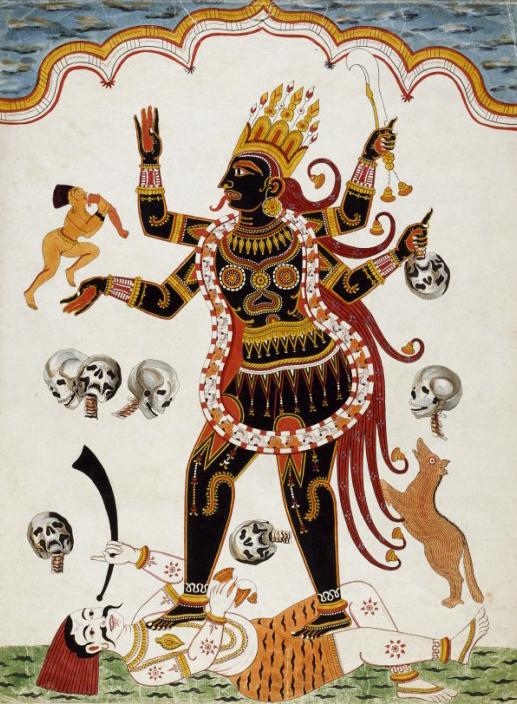 la dispersione Kali
