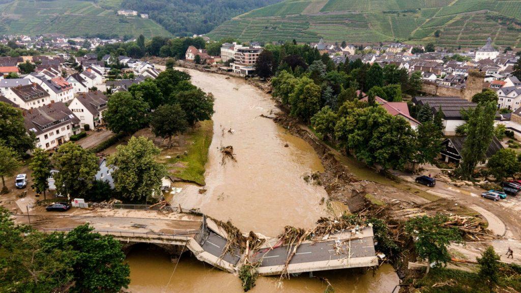 inondazione germania